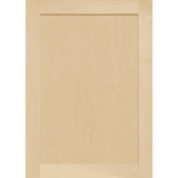 Unfinished Maple Shaker Cabinet Door by Kendor