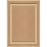 Unfinished MDF Cabinet Door Square with Raised Panel by Kendor