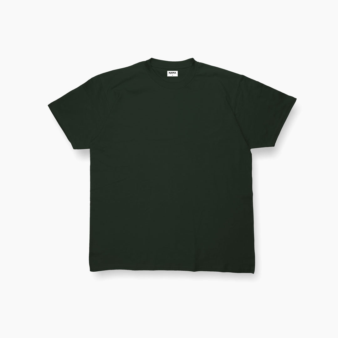 Basic Tees -  Dark Green