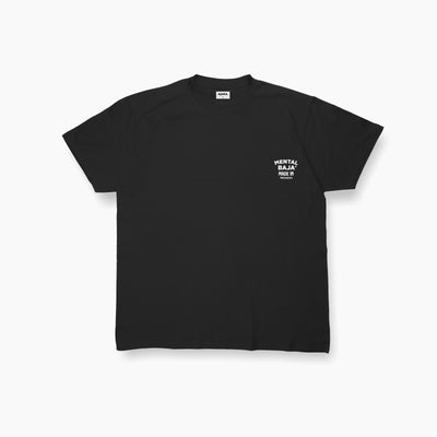 [Pre Order 14 Days] Black Mental Baja Tees White Chest