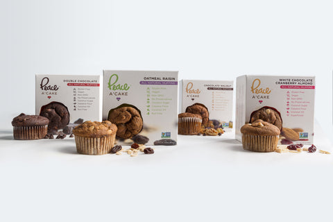 Peace A` Cake Gluten-Free & Vegan Muffins Sample Pack