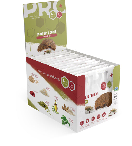 PRO+ Power Up 12 unit pack (Each Cookie: $2.75)