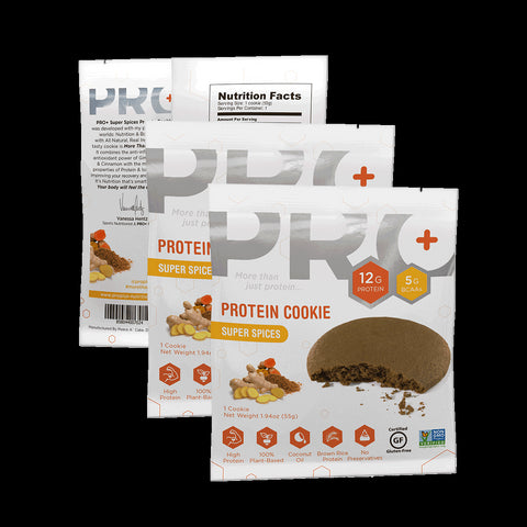 PRO+ Super Spices Cookie 12 unit pack (Each Cookie: $2.75)