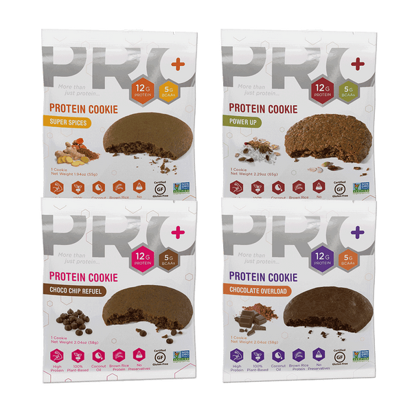 PRO+ High Protein Cookies Sample PACK ($2.80 each Cookie)