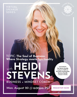 Meet Heidi Stevens, Business + Mindset Coach