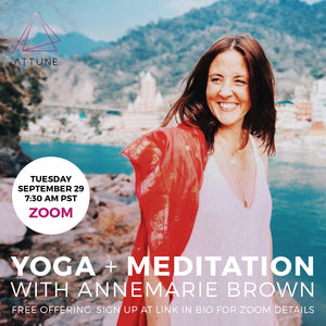 Yoga + Meditation with Annemarie Brown