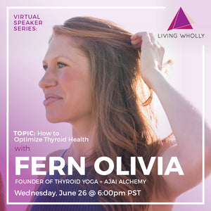 Fern Olivia Virtual Speaker Series Recorded Webinar