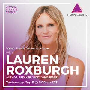 Lauren Roxburgh Virtual Speaker Series Recorded Webinar