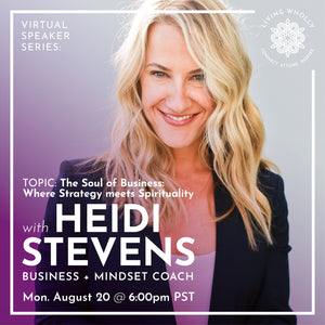 Heidi Stevens Virtual Speaker Series Recorded Webinar