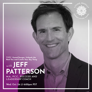 Jeff Patterson Virtual Speaker Series Recorded Webinar