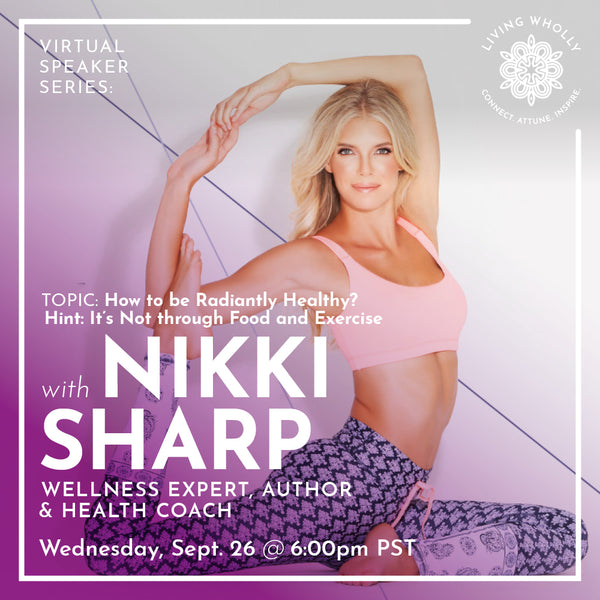 Nikki Sharp Virtual Speaker Series Recorded Webinar