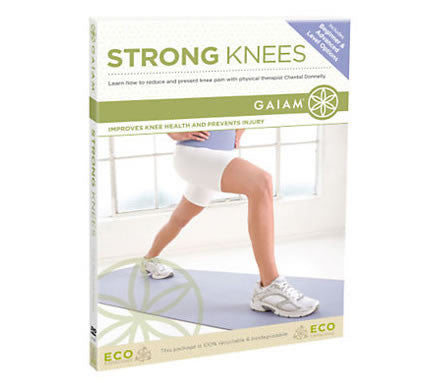 Gaiam Strong Knees DVD