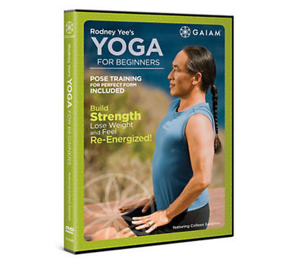 Rodney Yee's Yoga For Beginners DVD
