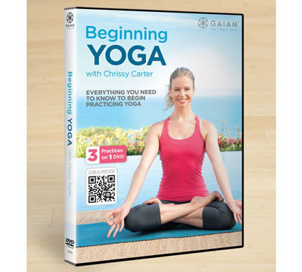 Beginning Yoga with Chrissy Carter DVD