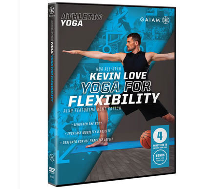 Athletic Yoga: Yoga for Flexibility DVD with Kevin Love