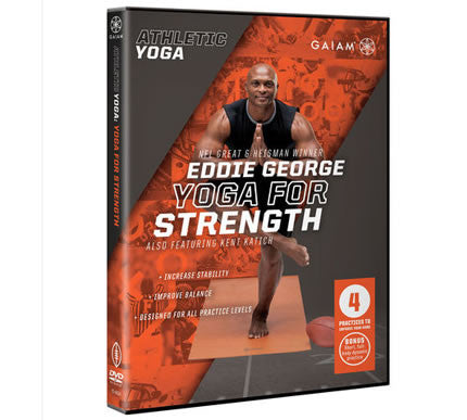 Athletic Yoga: Yoga for Strength DVD with Eddie George