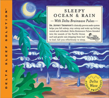 Sleepy Ocean and Rain CD