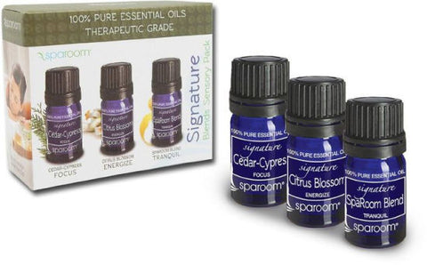 Signature Aromatherapy Sensory Set of 3 Oils