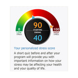 Stress Free Now Online Program Personalized Stress Score