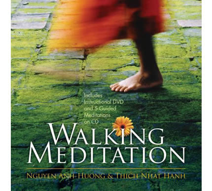 Walking Meditation Book, CD, & DVD