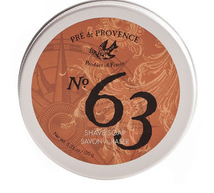 No. 63 Men's Shave Soap In Tin
