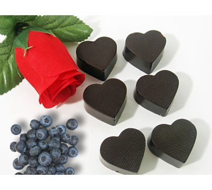 Chocolate Chia Hearts