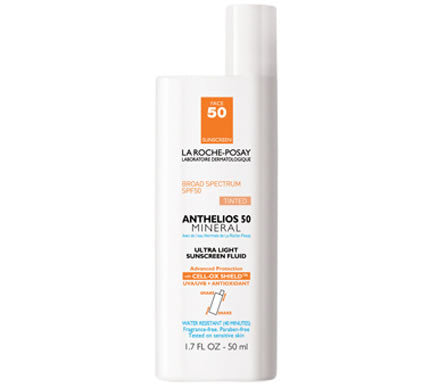 Anthelios 50 Mineral Tinted Ultra Light Sunscreen Fluid