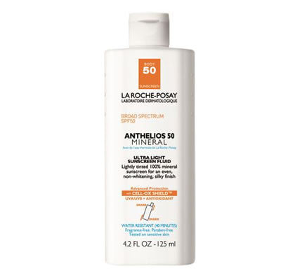 Anthelios 50 Body Mineral Tinted Sunscreen - 4.2 FL.OZ. - Tube