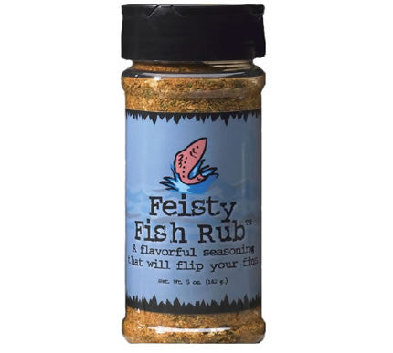 Feisty Fish Rub