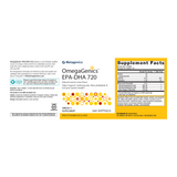 Metagenics OmegaGenics EPA-DHA 720 Softgels (Lemon)