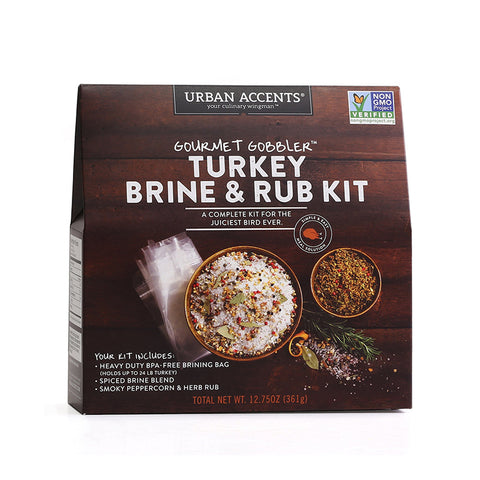 Gourmet Gobbler Turkey Brine and Rub Kit