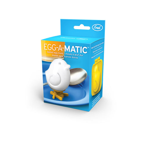 Fred & Friends Egg-A-Matic Chick Hard Boiled Egg Mold