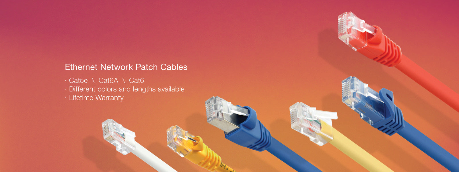 Ethernet Patch Cables Omnigates Tagged Cat6 Utp Cat 5e Flexible Wire With Conductor Cable Rj45 6 Network Gold Plated Utp05 15ft No Reviews From 060