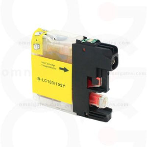 Yellow OGP Compatible Brother LC105 Inkjet Cartridge