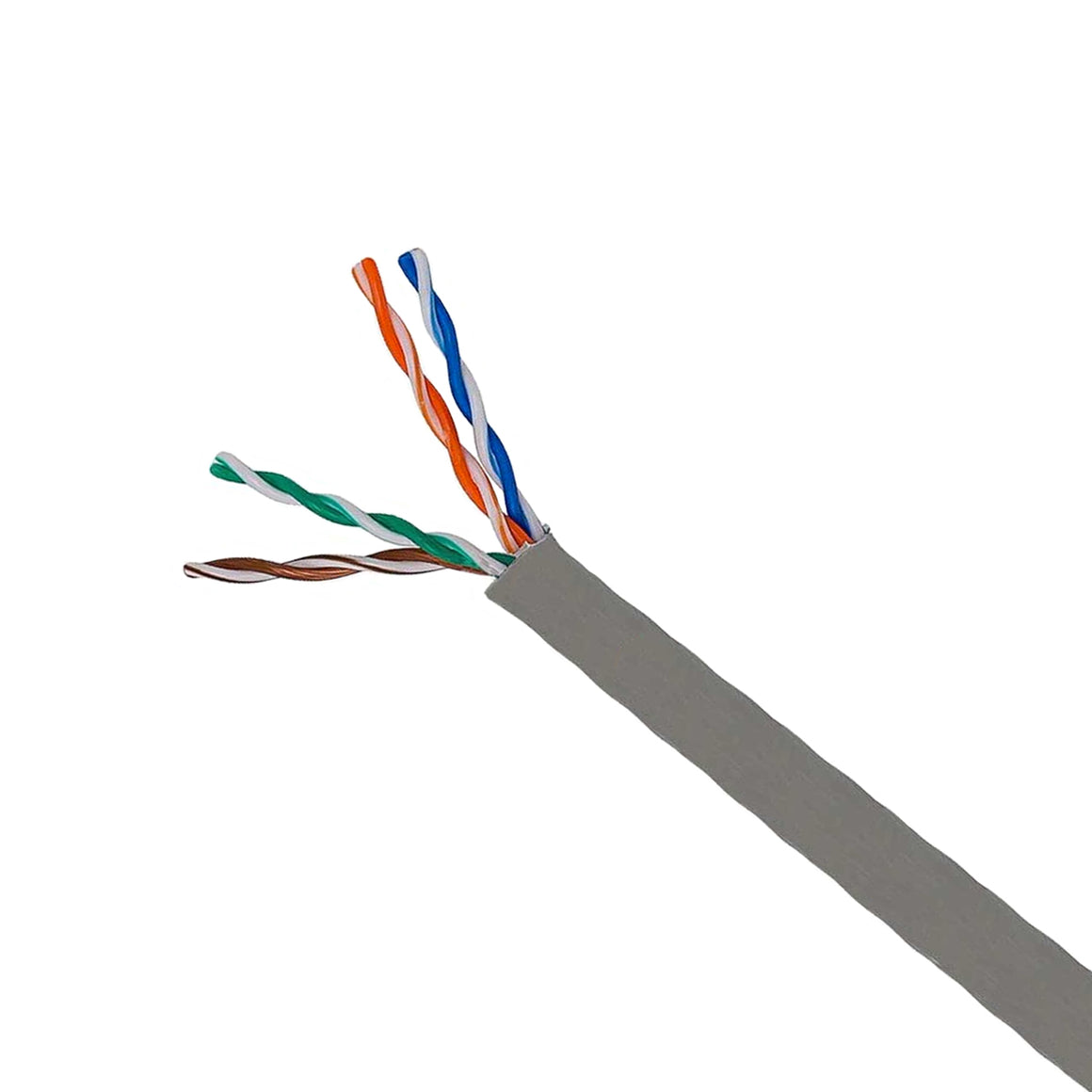 Cat 5e Bulk Cables/UTP Solid PLENUM 1000ft