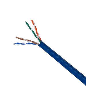 Cat 6A Bulk Cables/UTP Solid 1000ft