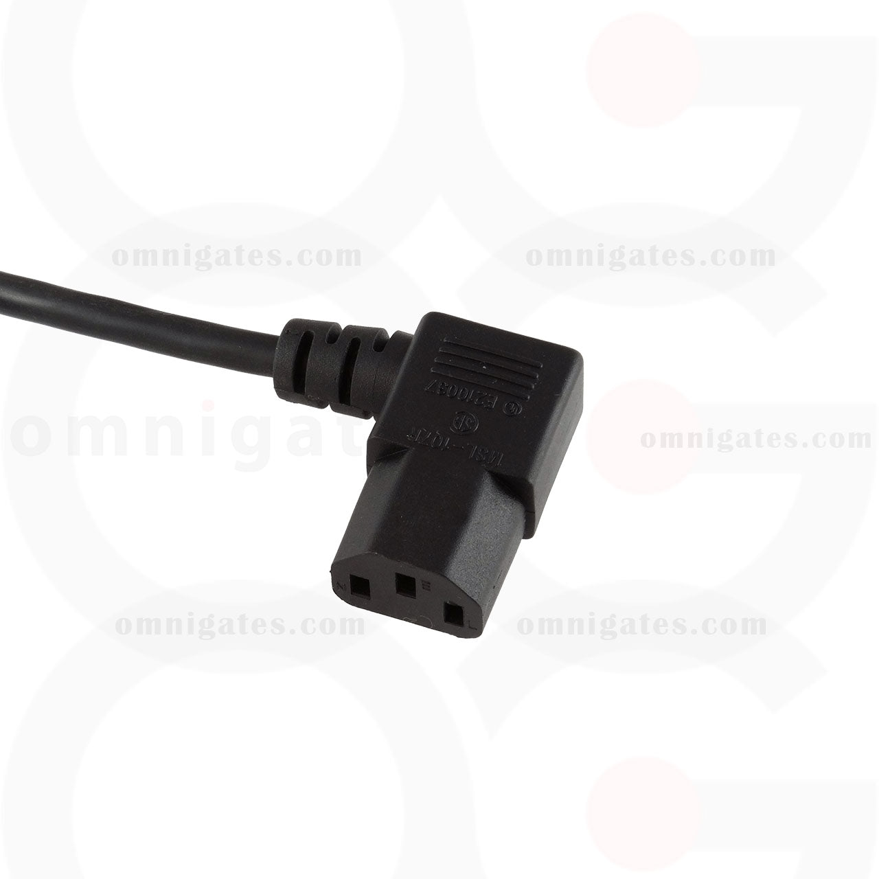 2x 1FT NEMA 5-15P To IEC320 C13 PC Power Cord Cable 3-Prong US AC 10A 125V 18AWG