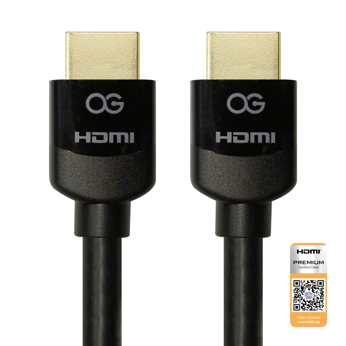 Certified Premium HDMI® Cable with Ethernet