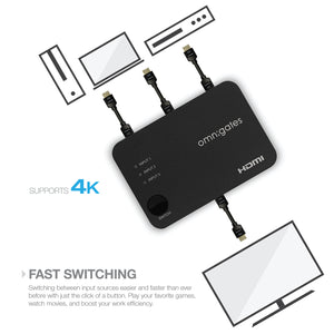 Application suggestion for omnigates 3x1 HDMI switch