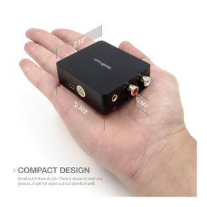 Dimensions of Digital to Analog Audio Converter