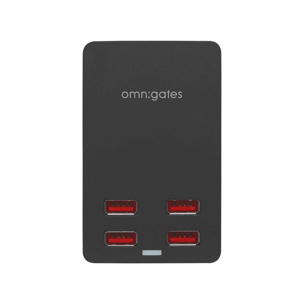 omnigates black 4 Port USB Smart Charger