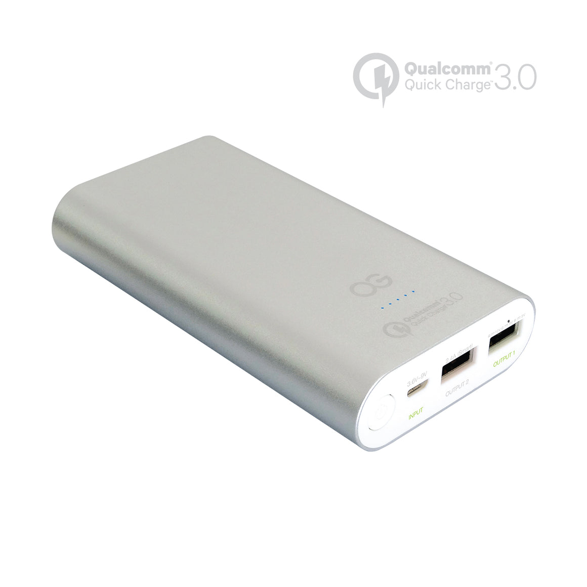 Omnigates 10200mAh Portable Battery with Qualcomm Quick Charge 3.0