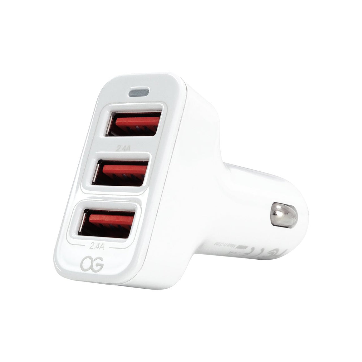 Omnigates 3-Port USB Car Charger