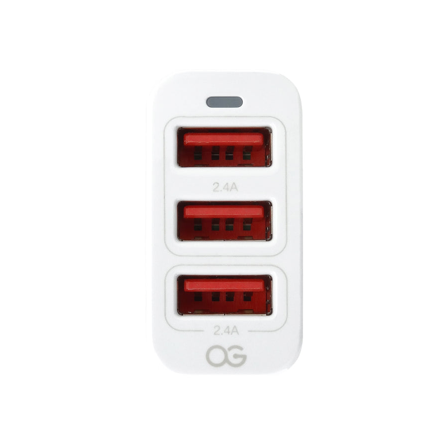 Omnigates 3-Port Car Charger