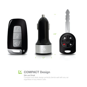 Omnigates 3-port and 2-port (32W) car charger [2Pack bundle]