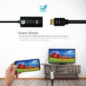 Omnigates USB C to HDMI Adapter (4K@60Hz)
