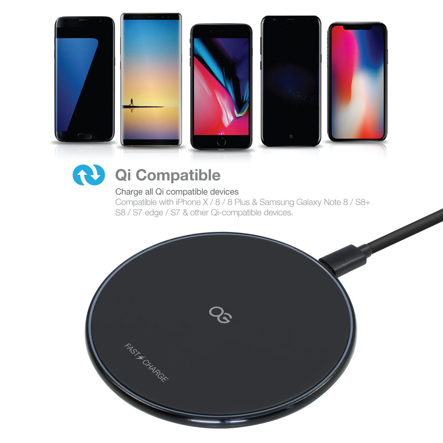 Fast Slim Wireless Charging Pad, v2