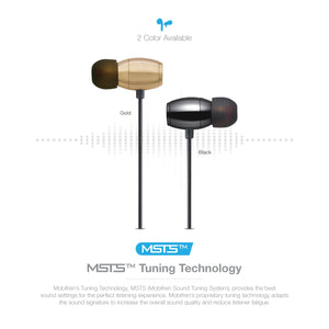 OG-MobiFren Premium Hi-Fi Sound Stereo Bluetooth Earphone Metal Housing with Dual Batteries