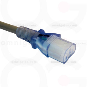 Hospital Grade Power Cable 16AWG, NEMA 5-15P to C13 female