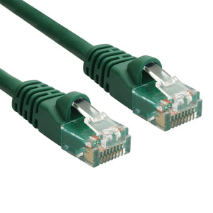 Green RJ45 CAT 5e Ethernet Network Patch Cable 350MHz Gold Plated UTP
